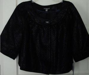 Kohl's Black one button jacket