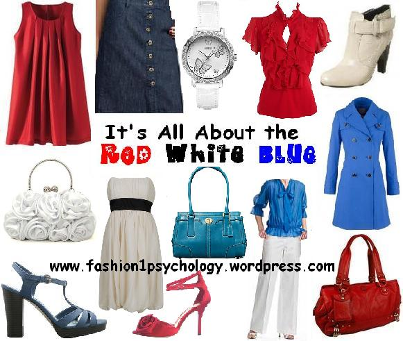 Red, white and blue 2009