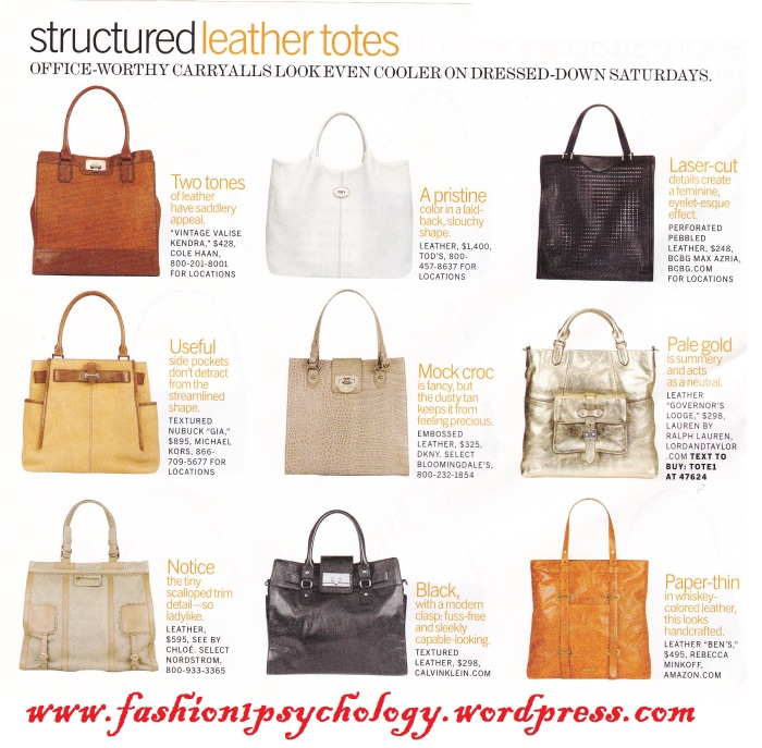 structured purses