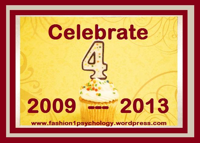 4th Year Blog  Anniversary
