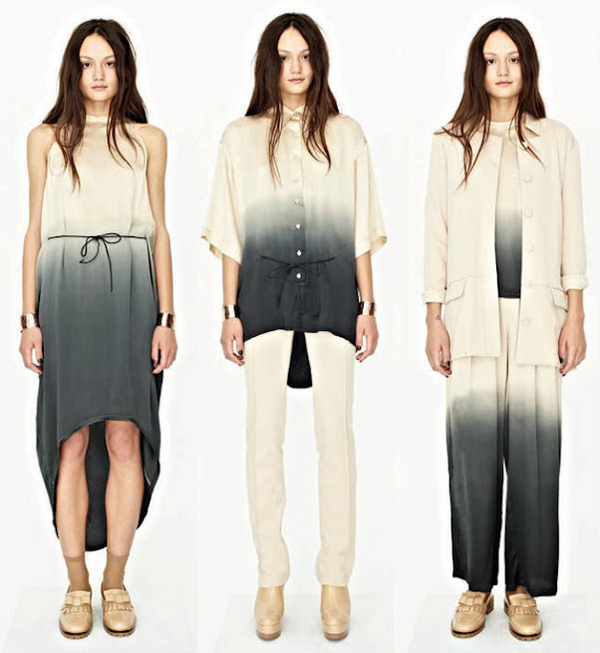 2012-aw-lookbook-Shakuhachi-ombre-black-grey-white-dip-dyed