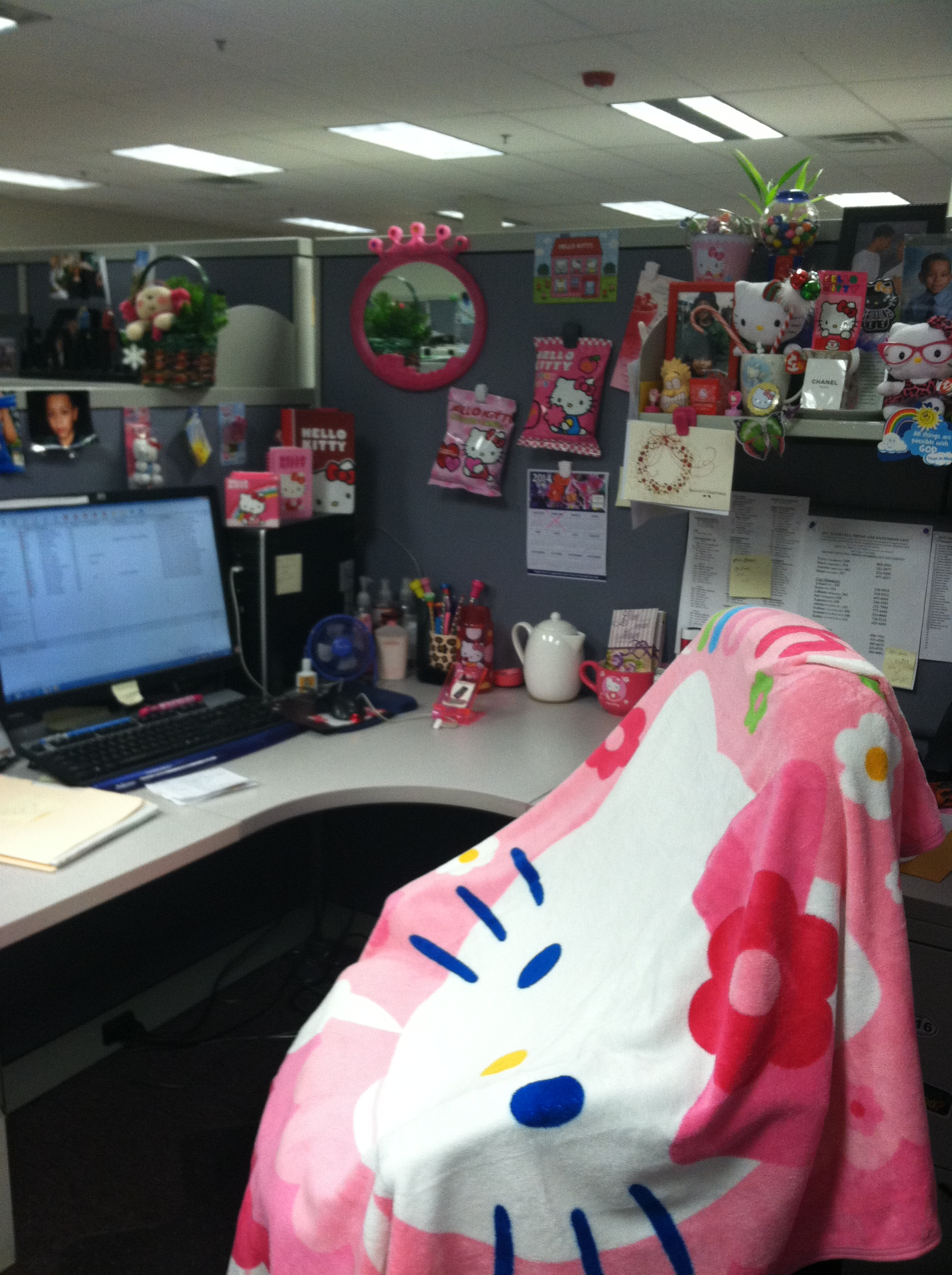 Hello Kitty 3-14 Cubicle (3)