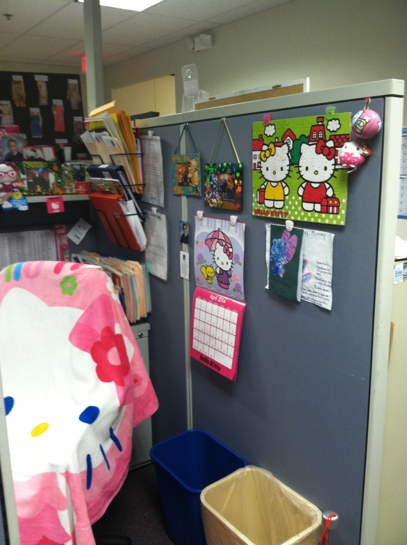 Hello Kitty 3-14 Cubicle (4)