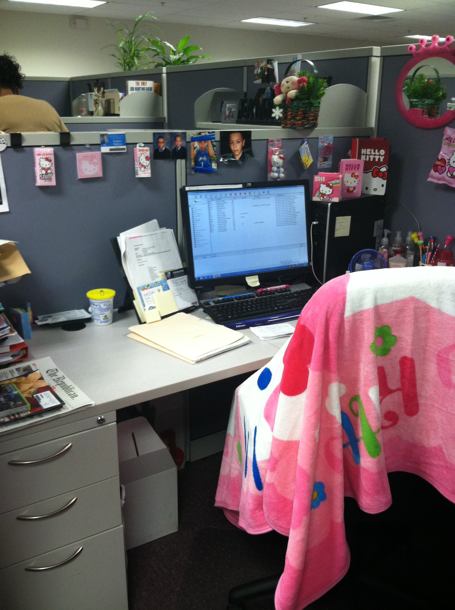 Hello Kitty 3-14 Cubicle (5)