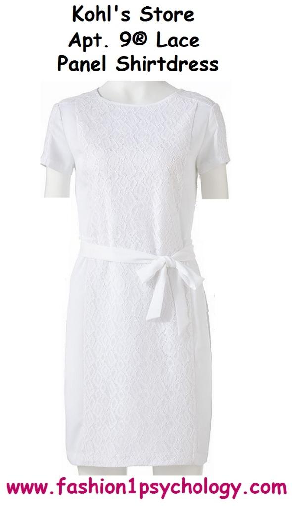 Panel Lace Dress