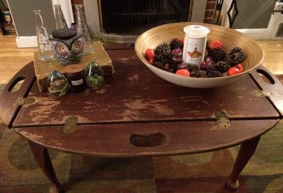 Vintage Table Fall Decor (1)