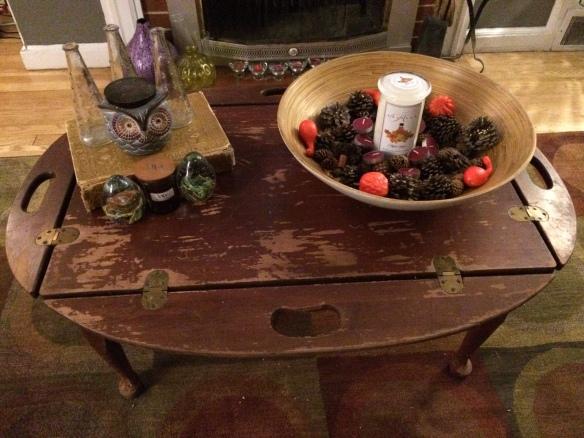 Vintage Table Fall Decor (2)