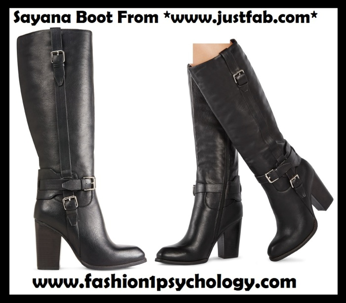 Sayana Website boots black