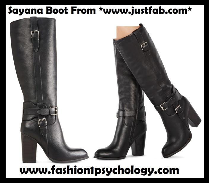 Sayana Website boots black