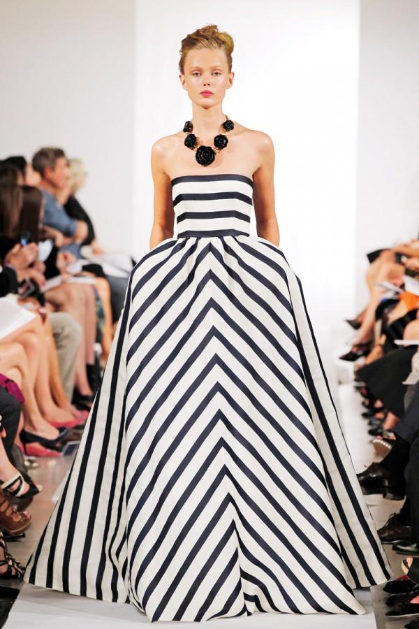 Spring-Fashion-2013-Trend-Stripes-Oscar-de-la-Renta-600x900